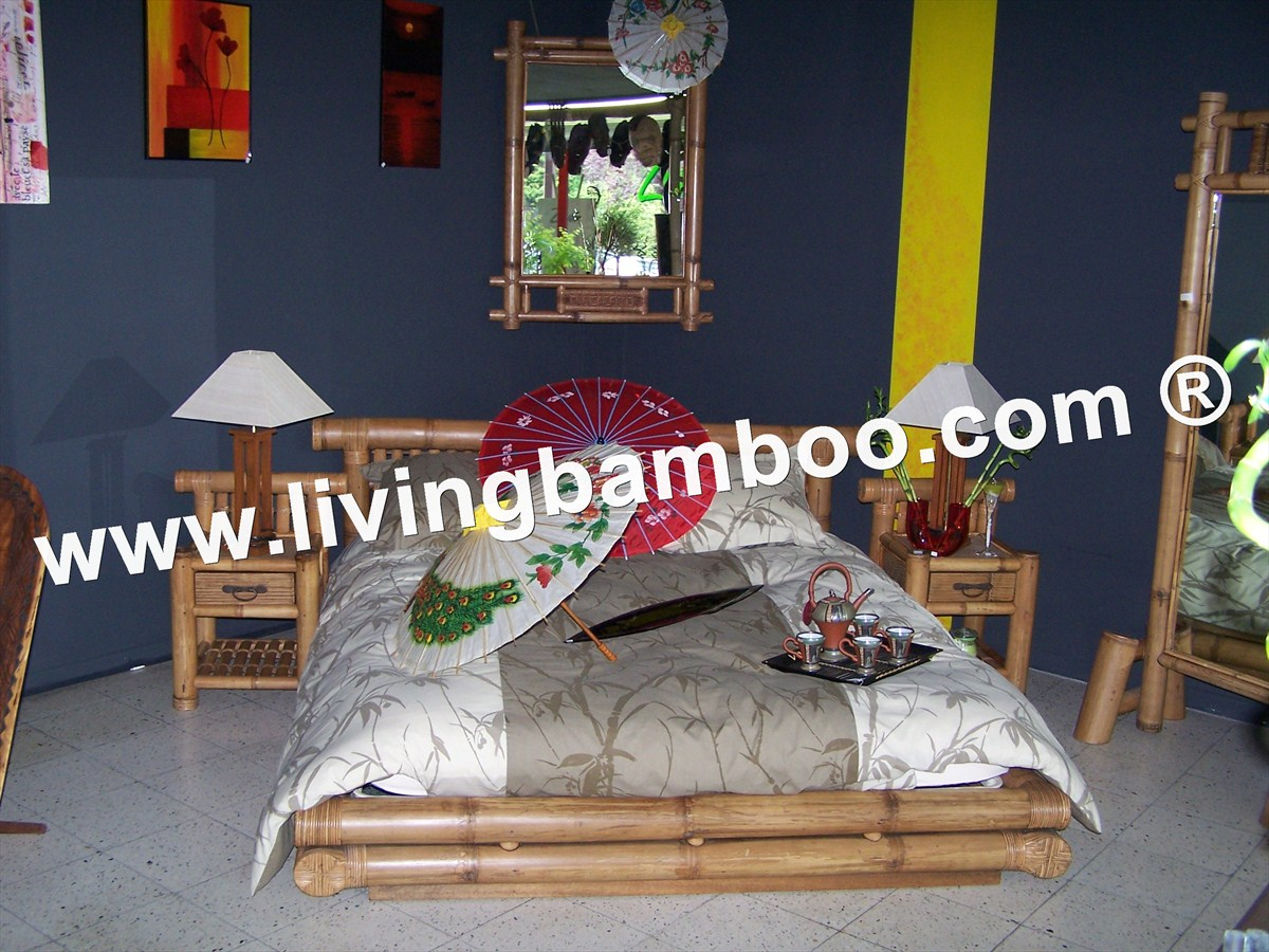 Bamboo Bed-AMIENS BED