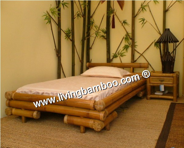 Bamboo Bed-SAI GON BED