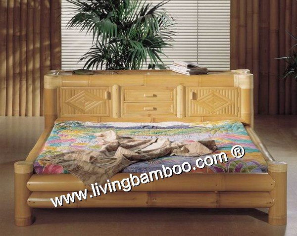 Bamboo Bed-CABINET BED