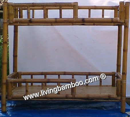 Bamboo Bed-LEPZIG DOUBLE BED