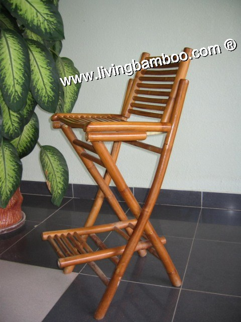 Bamboo Bar Chair and Stool, Bamboo Bar Chair & Stool-CU CHI BAR CHAIR