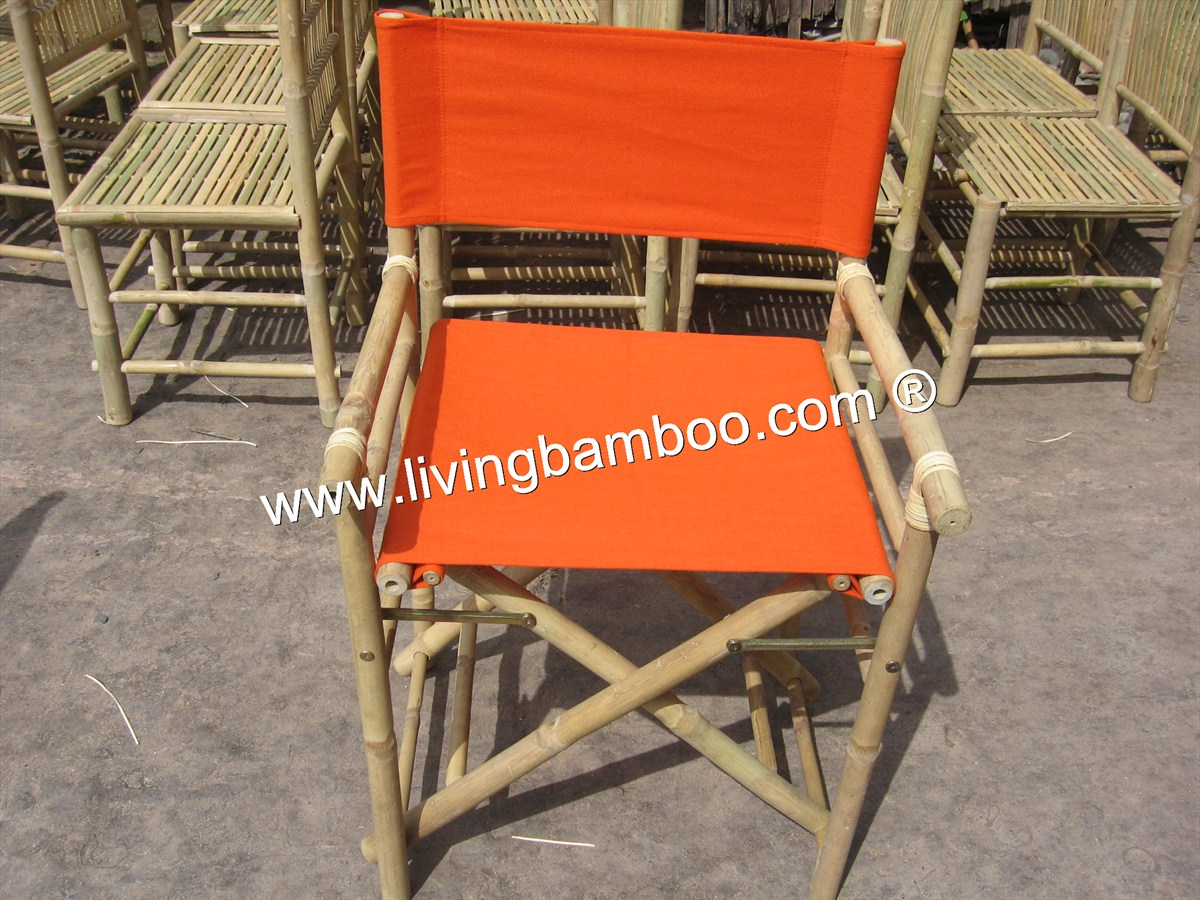 Bamboo Chair-DIRECTOR FOLDING CHAIR
