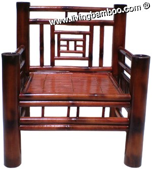 Bamboo Chair-HUE SINGLE SOFA