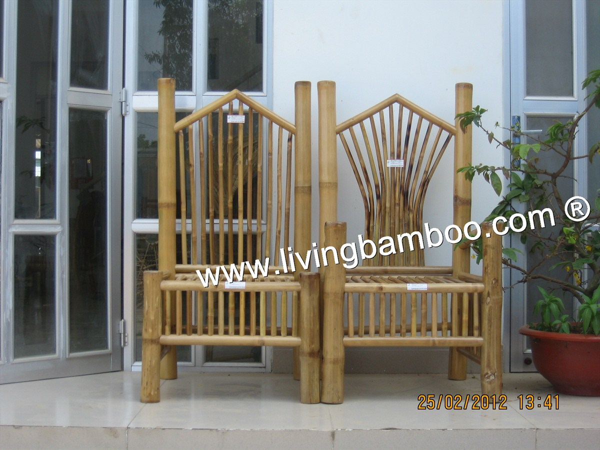 Bamboo Chair-KING & QUEEN CHAIR