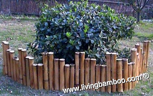 Bamboo Fence-Bamboo Fence Edging