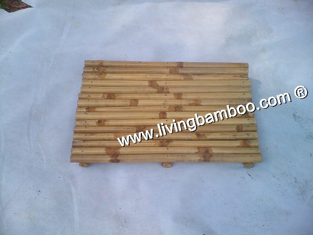 Small Bamboo Products-CUCHI BAMBOO DOOR MAT