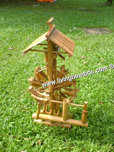 Small Bamboo Products-WATER ROLLING MACHINE SMALL