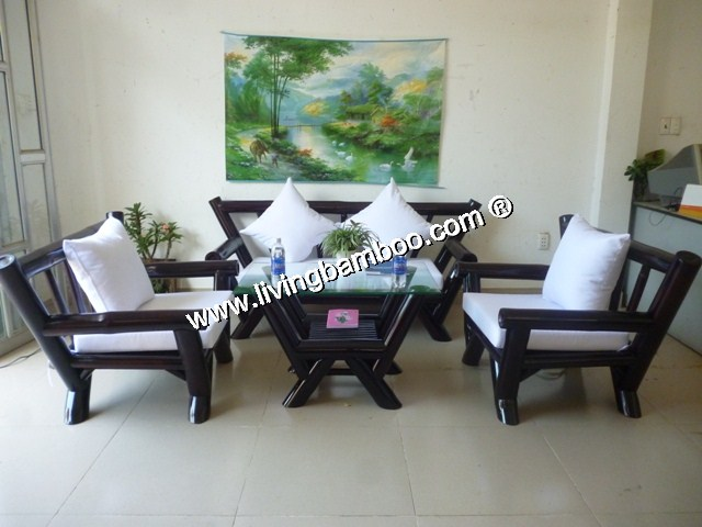 Bamboo Living Room Miami Set