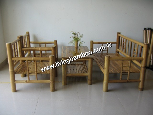 Bamboo Living Room-DIMO LIVING SET