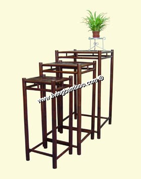 Small Bamboo Products-FLOWER STAND