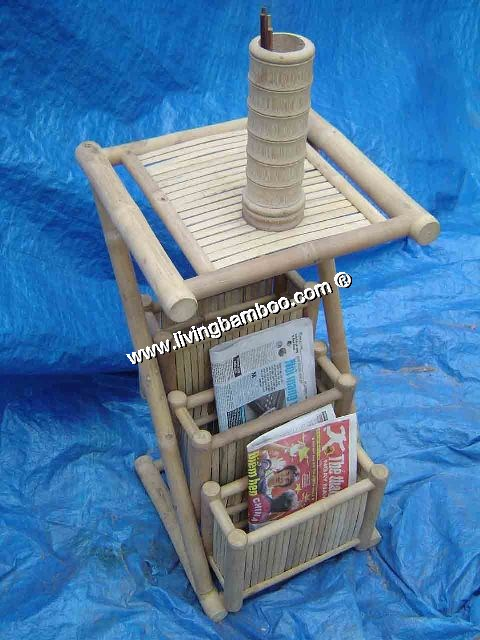 Bamboo Living Room-MAGAZINE STAND 1