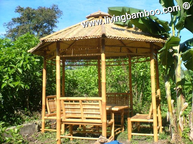 Bamboo Gazebo-LONDON GAZEBO