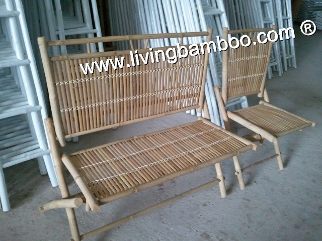 Bamboo Bench-MONG CAI BENCH