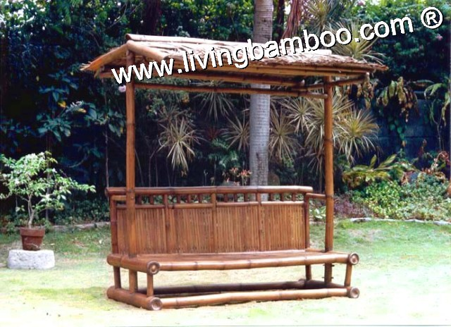 Bamboo Bench-NHATRANG BEACH