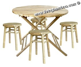 Bamboo Dining Room-PHUOC THANH SET