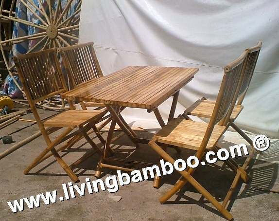 Bamboo Dining Room-TRUNG AN SET