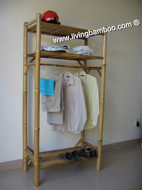 Bamboo Rack-BEN HAI CLOTHES RACK