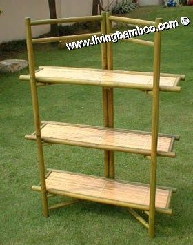 Bamboo Shelf-ANGLE FOLDING SHELF