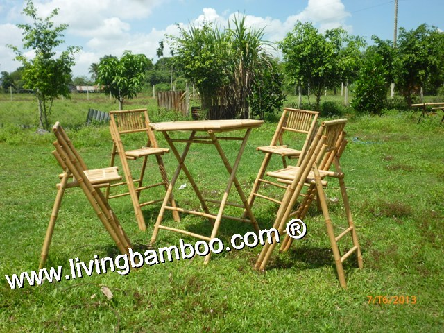Bamboo Dining Set-MAGDEBURG BAR SET