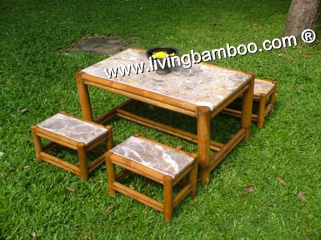 Bamboo Dining Set-VAN THANH SET
