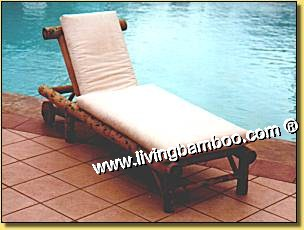 Bamboo Sunbed-OUTDOOR LOUNGE