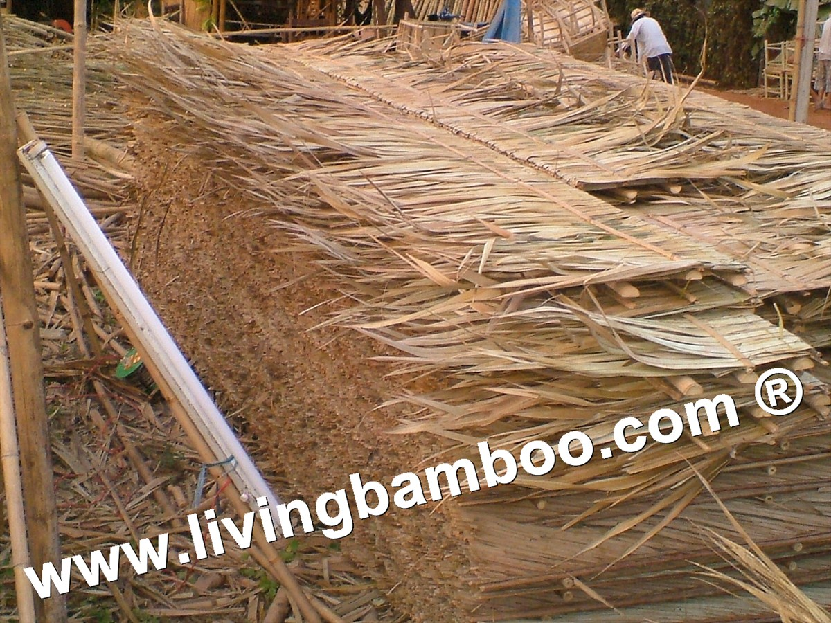 Bamboo Natural Meterial-COCONUT ROOF TILE