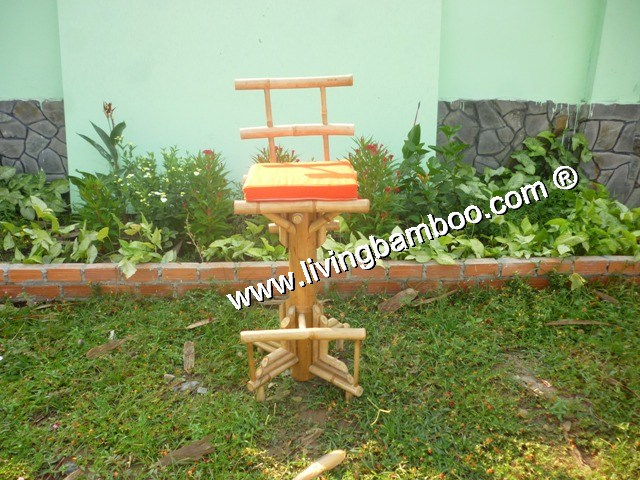 Bamboo Bar Chair and Stool, Bamboo Bar Chair & Stool-MOC BAI BAR CHAIR