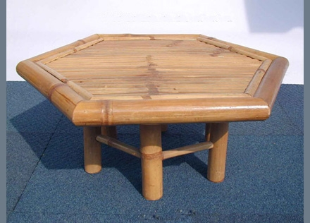 Bamboo Table-HEXAGON TABLE