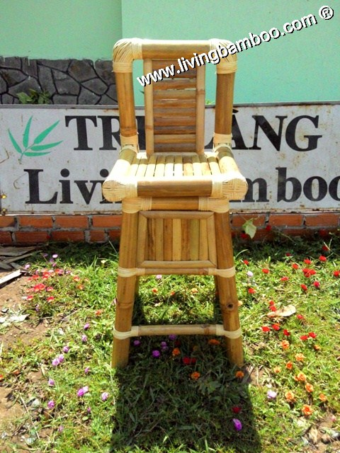 Bamboo Bar Chair and Stool, Bamboo Bar Chair & Stool-TRUNG UMBRELLA BAR CHAIR