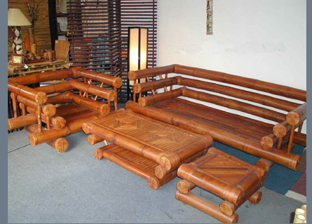 Bamboo Living Room-SAPPORO LIVING SET