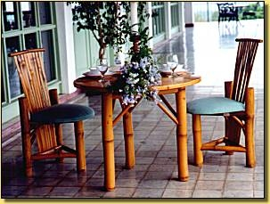 Bamboo Dining Room-HOUSTON DINNING SET