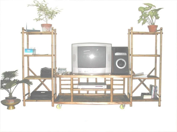 Bamboo Cabinet-RENO ENTERTAINMENT