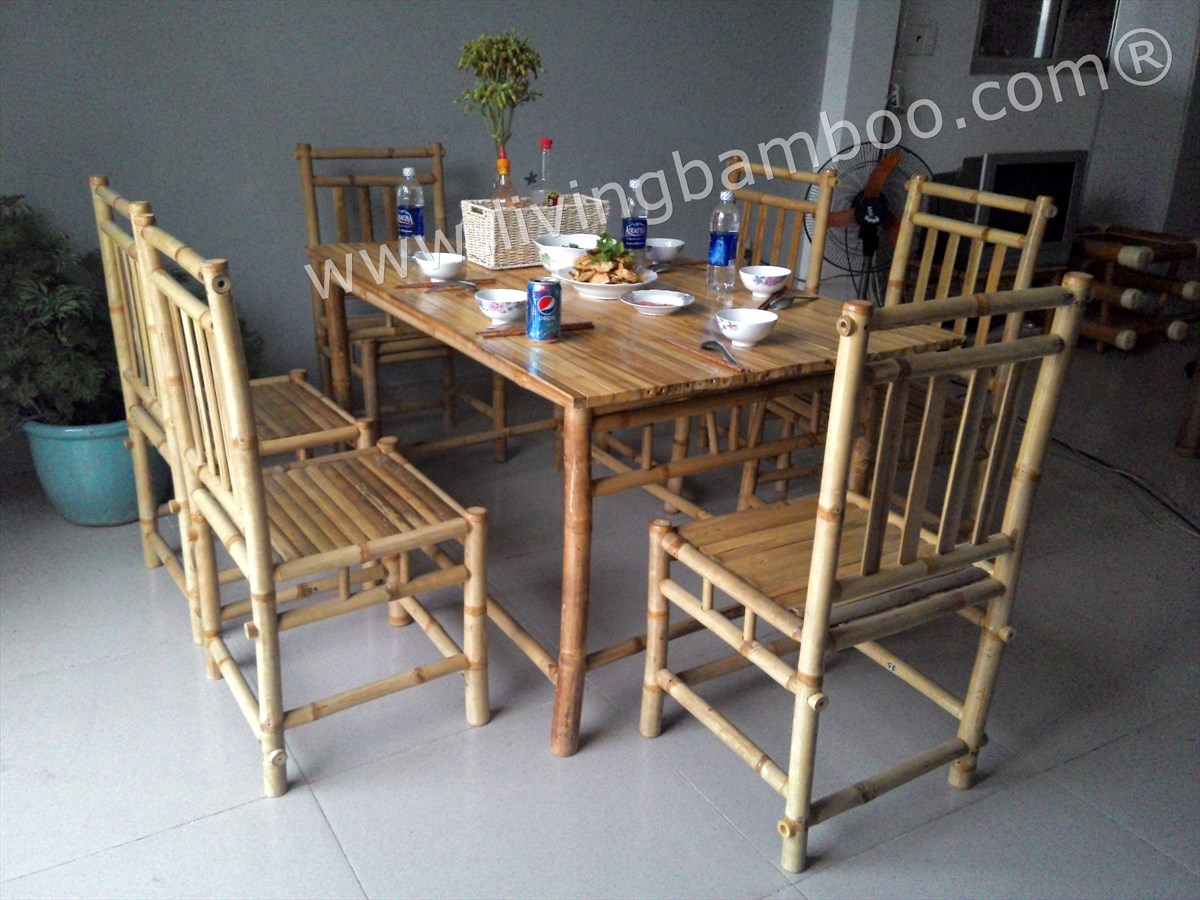 bamboo dining room binh quoi dining set