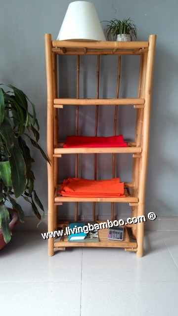 Bamboo Shelf-SEATTLE 5 FLOOR SHELF