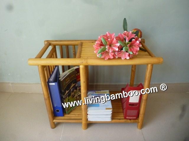 Bamboo Rack-MAGAZINE TABLE