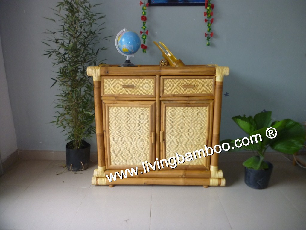 Bamboo Cabinet-ANTONY CABINET NATURAL