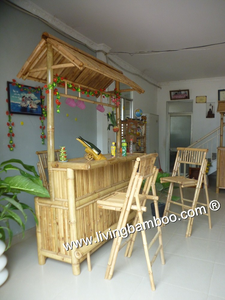 Bamboo Tiki Bar-ITA BAR WITH BAMBOO ROOF