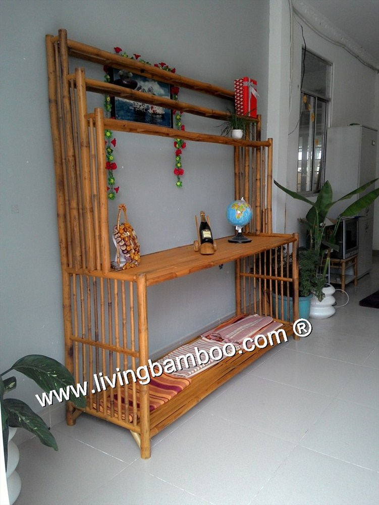 Bamboo Shelf-BAMBOO BOOK SHELF 2