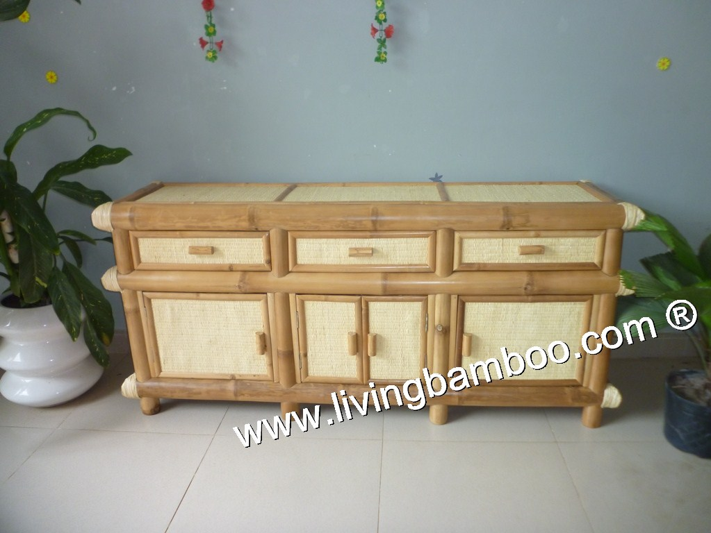 Bamboo Cabinet-SPRING CABINET