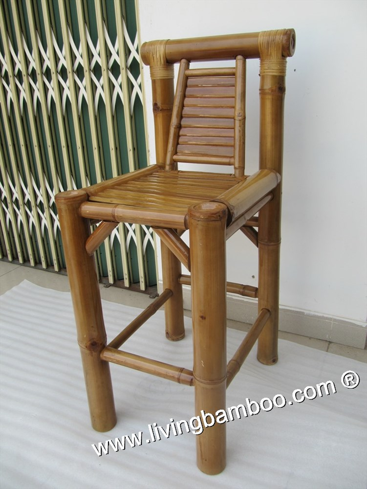 Bamboo Bar Chair And Stool Nha Trang 2