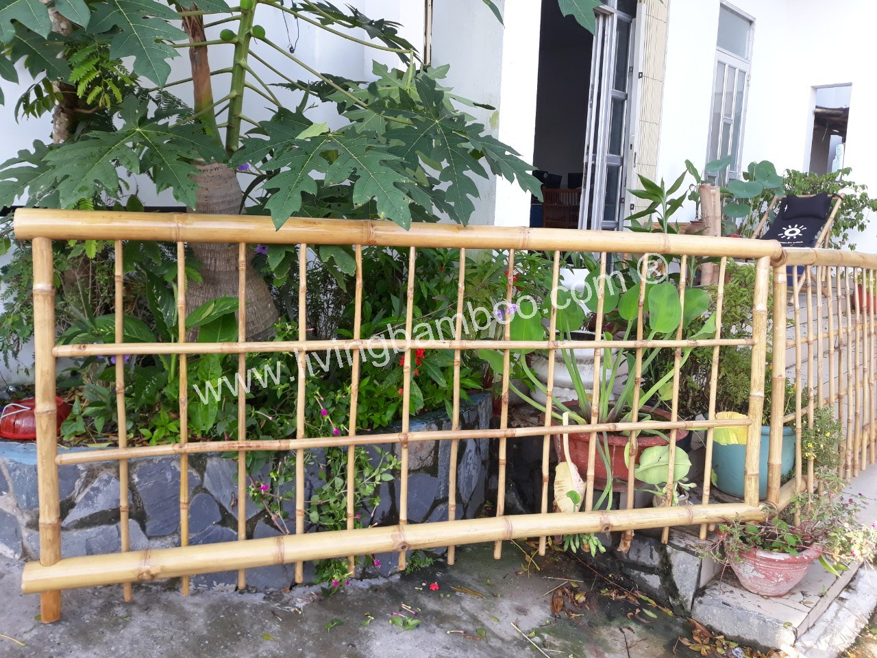 -DECOR BAMBOO FENCE