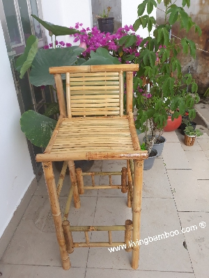 bamboo bar chair